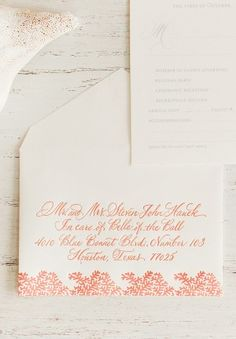 Tropical Wedding invitations by Atheneum Creative via Oh So Beautiful Paper (3)