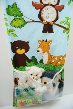 Baby / Kid Room Wall Hanging with Pocket