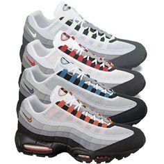 Trendy Ideas For Womens Sneakers : Nike Air Max 95 Air Max 95, Nike Air Max, Nike Heels, Nike Wedges, Nike Free Shoes, Nike Shoes Outlet, Nike Kicks, Runs Nike, Tiffany Blue Nikes