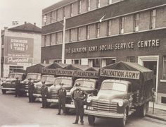Love old pictures ;) Salvation Army in service in Europe-- WW2