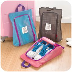 Cheap waterproof travel accessories, Buy Quality storage organizer directly from China travel shoe bag waterproof Suppliers: Shoes Storage Organizer Waterproof Basket women men bag travel Handbag Necessities items Accessories Supplies Product Best Travel Bags, Mens Travel Bag, Travel Accessories For Men, Luggage Accessories, Handbag Storage, Handbag Organization, Shoe Organizer, Shoe Storage, Travel Handbags