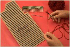Taller de Ana María: MOLDE TELAR weaving-loom