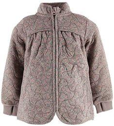 Wheat Termojakke - Thilde - Flower Hooded Jacket, Athletic, Flowers, Fashion, Jacket With Hoodie, Moda, Athlete, Fashion Styles, Deporte