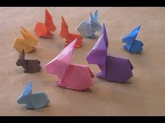 Origami Rabbit - YouTube