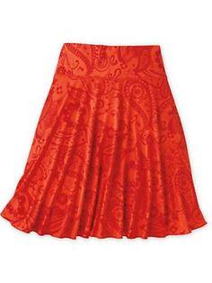 Women's Go-To Swing Skirt | Sahalie