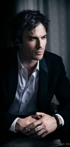 Ian sommerholder Cast Images, Ian Somerholder, Vampire Diaries The Originals, Damon, Rings For Men, Famous People, Supernatural, Highlights, Wallpapers