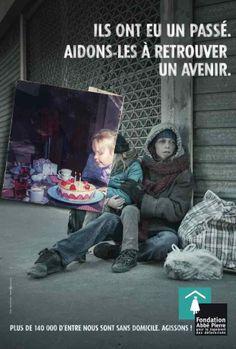 La fondation Abbe Pierre et BDDP Unlimited invitent à changer de regard sur les personnes sans domicile