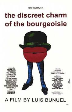 The Discreet Charm of the Bourgeoisie - Its hardly the most poigniant of Buñuel's films, but its strange brand of deadpan surrel comedy, is something to remember. (7/10)