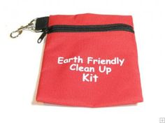 "Earth Friendly Cache BAG  $5.00 USD    Earth Friendly Cache BAG Great little bag to carry your clean up stuff!    High quality canvas bags with a nice clip and sturdy zipper.    Size: 7"" high x 5.5"" wide (17cm x 14cm)"