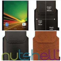 Lava A71 Smartphone Holster  #smartphone #nutshell #belt #holster #leather #cases #madeinnewzealand #oppo #smartphoneaccessories #guaranteed