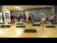Step Cardio Choreography By Liana Santarossa June 2015 - YouTube