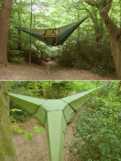 Suspended c&ing tent by Tetsile Summer isnu0027t complete without c&ing Hammock c&ing! & Dew Drop Tree Tents | Tree tent Dew drops and Tents