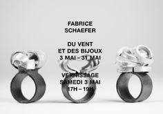 """Viceversa — Bijoux Contemporains """"Du vent et des bijoux""""  3-31 mai 2014 - Fabrice Schaefer"""