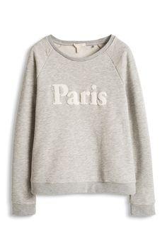 Esprit / Baumwoll Sweatshirt mit Flock-Print