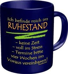 Rahmenlos® Kaffeebecher - Ich befinde mich im Ruhestand.. - Fun Tasse Rente Pension - http://www.1pic4u.com/blog/2014/10/06/rahmenlos-kaffeebecher-ich-befinde-mich-im-ruhestand-fun-tasse-rente-pension/