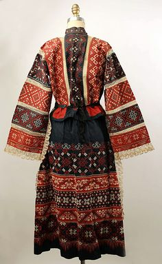 Non-Western Historical Fashion - Ensemble 20th century Russia