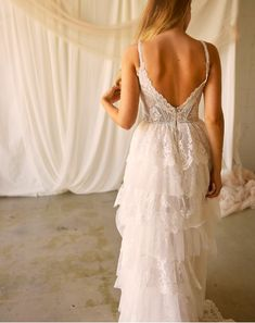 Wild Blooms Bridal believes your wedding dress should be a reflection of your personal style. For the bride who loved freedom, style, simplicity and wants to be her truest self on her special day! Bridal Looks, Bridal Style, Bridal And Formal, Floral Chiffon, White Style, Formal Dresses, Wedding Dresses, Fit And Flare, Beautiful Dresses