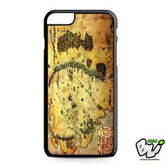 Brown Classic Middle Earth Map iPhone 6 Plus Case | iPhone 6S Plus Case