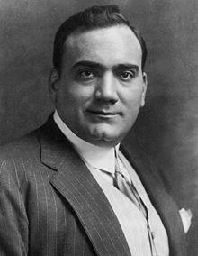02/08/1921 : Enrico Caruso, ténor d'opéra italien (° 25 février 1873).