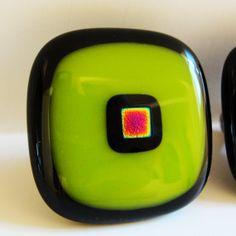 1 Fused Glass Knob Cabinet Knobs Pulls Home Decor by sljglass, $20.00