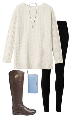 It's Friday! by hannah-olivia-cantrell on Polyvore featuring Toast, Max Studio, Tory Burch, Fendi and Chan Luu