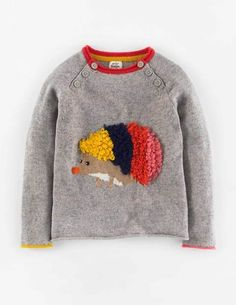Fun sweater at Mini Boden.