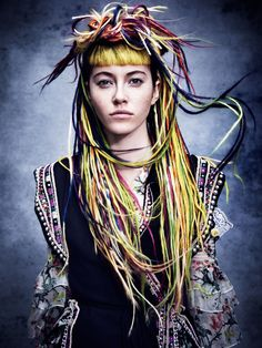 Aveda - Folklore Hair: Aveda Artistic Team Concept: Antoinette Beenders Photos: Jenny Hands Make up: Janell Geason, Nick Marshall Aveda Hair Color, Color Your Hair, Aveda Makeup, Creative Hair Color, Aveda Salon, Oval Face Shapes, Hair Shows, Creative Hairstyles, Smooth Hair