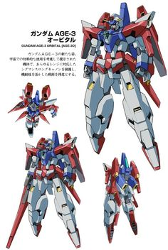 [Gundam AGE-3 Orbital]