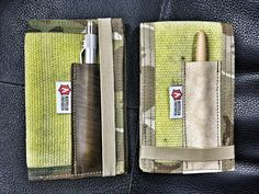 Fire Hose Notebook Covers = tough as nails