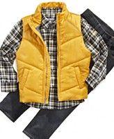 Kenneth Cole Kids Set, Little Boys Shirt, Vest, and Denim Set