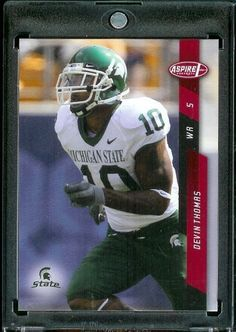 2008 Sage Aspire # 23 Devin Thomas (RC - Rookie Card) Michigan State-WR / Washington Redskins / NFL Trading Card in a Protective Display Case! by Sage. $2.88. 2008 Sage Aspire # 23 Devin Thomas (RC - Rookie Card) Michigan State-WR / Washington Redskins / NFL Trading Card in a Protective Display Case!