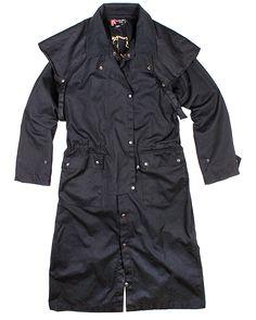 Workhorse Drovers Coat, black
