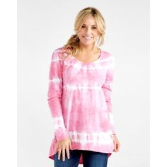 Horizon Stripe Long Sleeve Luna Top