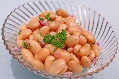 Piyaz; weißer türkischer Bohnensalat, ein sehr schönes Rezept aus der Kategorie Gemüse. Bewertungen: 63. Durchschnitt: Ø 4,4.