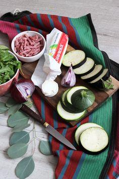 Salade de chèvre Chavroux avec toasts de légumes (aubergine et courgette) et salade gourmande. Blog Cuisine & DIY Bordeaux - Bonjour Darling - Anne-Laure: Salade de chèvre et toasts de légumes