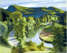 Edward Hopper - First branch of the white river, Vermont