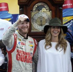 MARTINSVILLE, Va. (AP) — Dale Earnhardt Jr. roamed around Martinsville Speedway as a child, soaking in the sights and the sounds and the smells while his dad collected six of the treasured grandfather clocks awarded to the winner.  Earnhardt desperately wanted to win at the historic short track, to bring one of those big 'ol clocks home to his house.  In his 30th try, he finally got his clock.  Earnhardt raced to his first Martinsville victory Sunday, a week after he was eliminated from the…