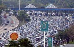 Malaysia Traffic Jam - Bing images