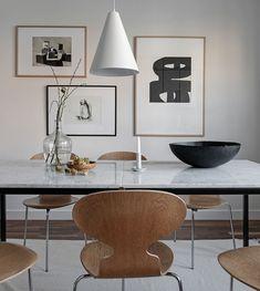 Cozy yet minimal home - via Coco Lapine Design blog