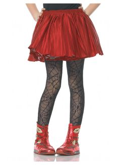 Spider Web Girls Black Tights by Leg Avenue Kids Witch Costume, Adult Costumes, Halloween Costumes, Vampire Costumes, Holiday Costumes, Leg Avenue Costumes, Little Girl Costumes, Web Girls, Dance Tights