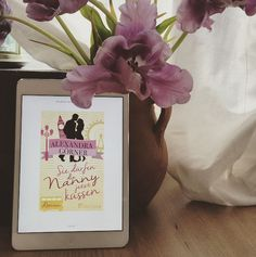 """""""Sie dürfen die Nanny jetzt küssen"""" Alexandra Görners E-Book macht sich überall gut <3"""
