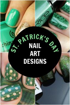 Want to wear a little good luck on St. Paddy's Day? Get pinch-proof ready with these awesome St. Patrick's Day nails. Try out one of these fun St. Patrick's Day nail ideas and prepare yourself for a day full of eating delicious food and celebrating all things Irish. Cute Nails, Pretty Nails, St Patricks Day Nails, Cute Nail Art Designs, Nail Polish Trends, Paddys Day, Beauty Hacks, Beauty Tips, Delicious Food