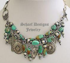 rocki gorman jewelry | Schaef Designs Nevada Royston turquoise & sterling silver Rocki Gorman ...