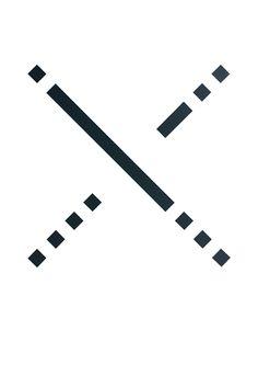 Runde Null · 1-2-3-4 · vinyl film on paper · minimal · geometric · abstract art · 590x405mm