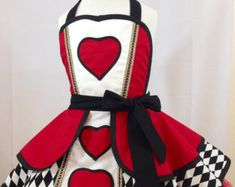 Items similar to Sailor Sue Pin Up Costume Apron, Cosplay on Etsy