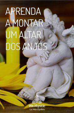 Altar dos anjos: Para fazer os seus pedidos, aprenda a fazer um altar dos anjos em casa para que possa manter a fé. Saiba como construir o altar dos anjos.
