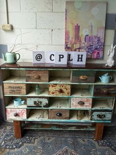 Display Shelves, Storage Shelves, Wall Shelves, Storage Ideas, Shelf, Outdoor Sinks, Vintage Country, Vintage Industrial, Wood Projects