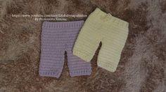 Nesta aula você vai aprender a confeccionar com a Professora Simone esta linda calça em crochê para bebê no tamanho RN, visite a professora: http://lifebabys...