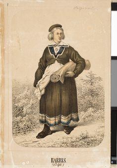 Eesti muuseumide veebivärav - Karja naine / Karris (Oesel)