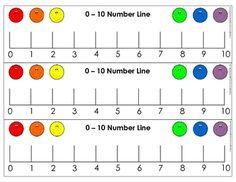 FREEBIE Includes 2 number lines and plus ideas on how to use them. Preschool Math, Fun Math, Kindergarten Math, Teaching Math, Math Activities, Maths, Math Charts, Number Lines, Math Numbers
